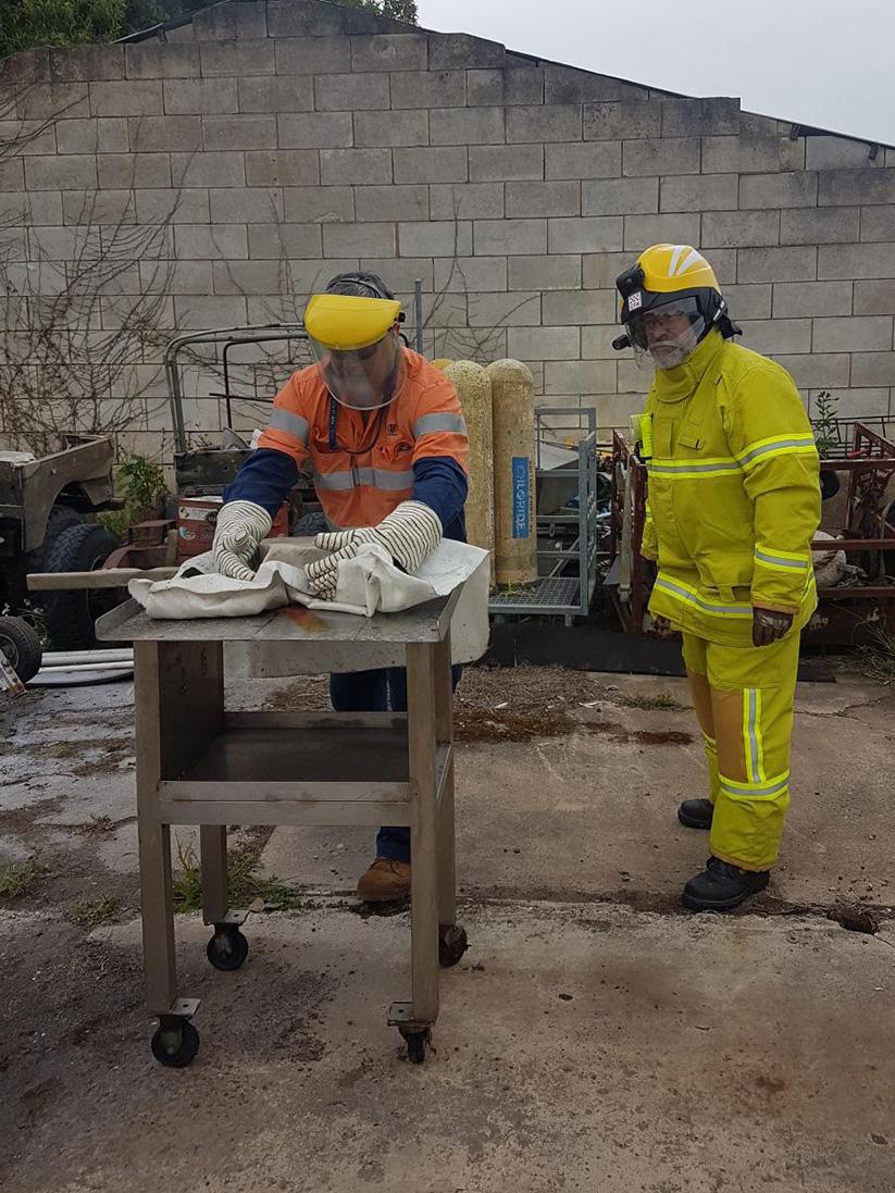 Confine small emergencies in a facility course
