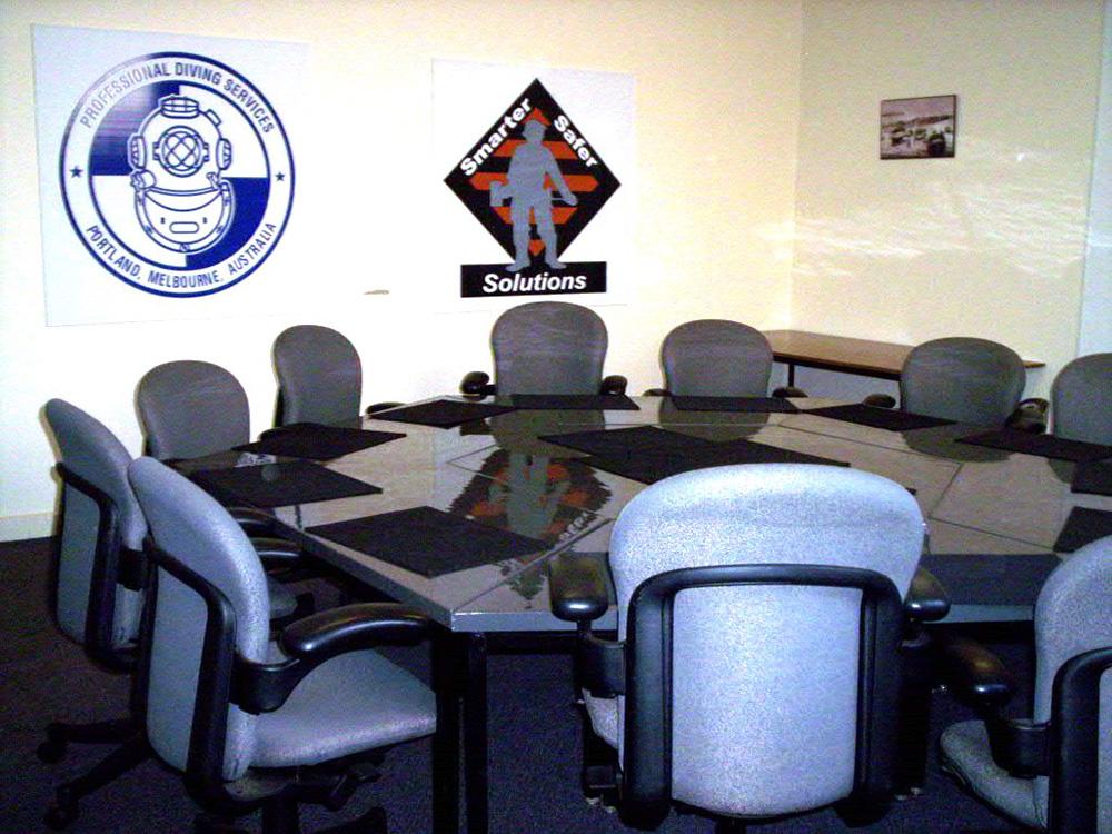 Smarter Safer Solutions Board Room