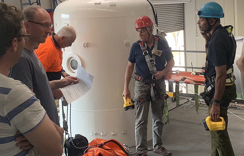 Maritime Survey Australia confined space training